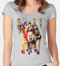 1 - 2 - 3 - 4 - 5 SPICE GIRLS! Women's Fitted Scoop T-Shirt