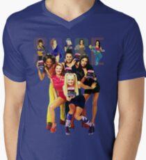 1 - 2 - 3 - 4 - 5 SPICE GIRLS! Men's V-Neck T-Shirt