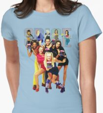 1 - 2 - 3 - 4 - 5 SPICE GIRLS! Women's Fitted T-Shirt