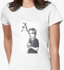 Wednesday Addams Women's Fitted T-Shirt