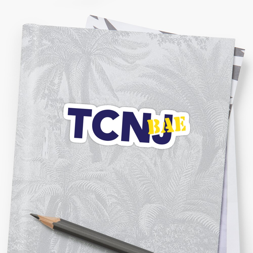TCNJ or TCNBAE? Sticker