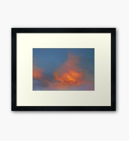 Vivid Morning  Framed Print