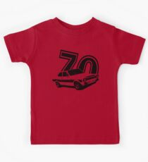 Escort 70' Retro Classic Cars Men's T-shirt Kids Tee