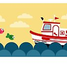 Fishing Boat by Sonia Pascual
