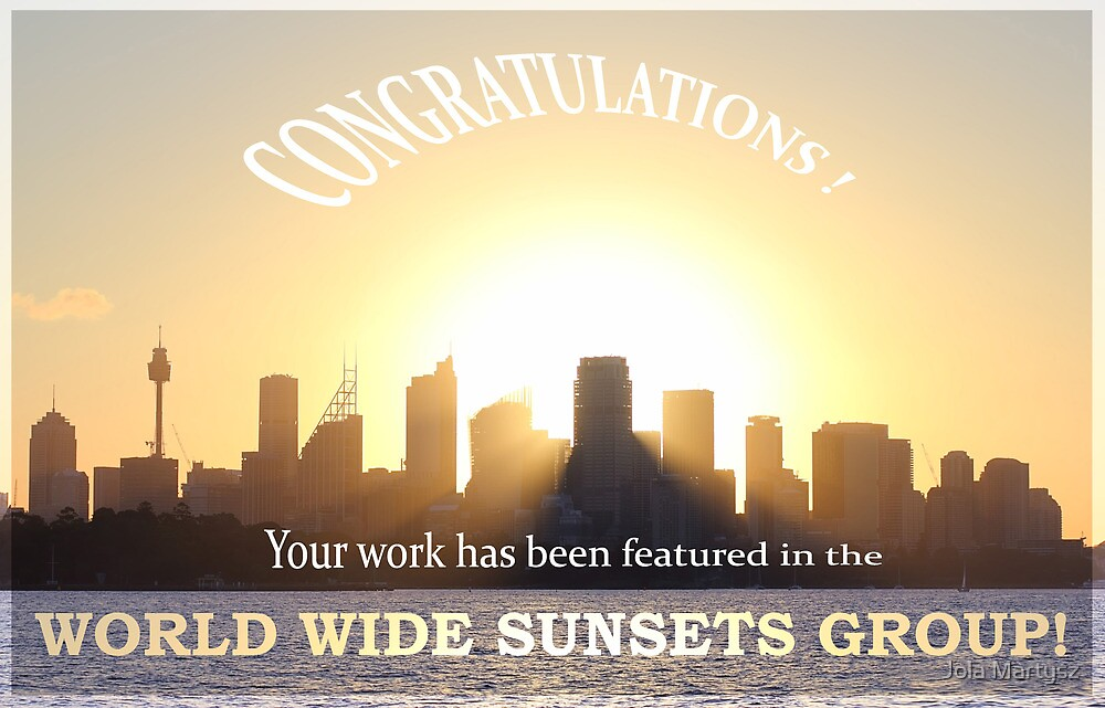 Feature banner World Wide Sunsets Group by Jola Martysz
