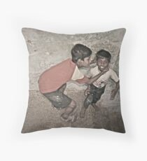 Life is much easier when you're in good company. Throw Pillow