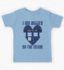 Bigger on the Inside Kids Tee