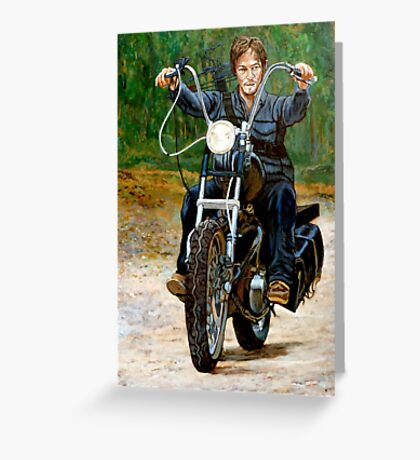 Ride, Don't Walk Greeting Card