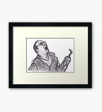 Buster Framed Print