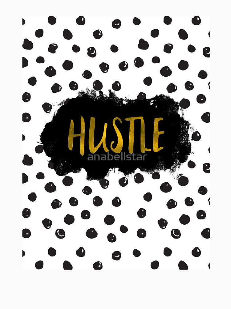 Gold Foil Hustle by anabellstar