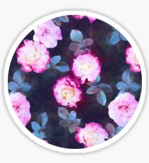 Twilight Roses Sticker