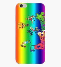 Percentum Xtreme Sports (rainbow) iPhone Case