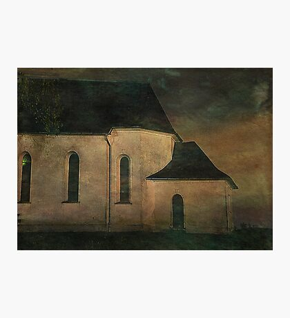Church at Twilight Photographic Print