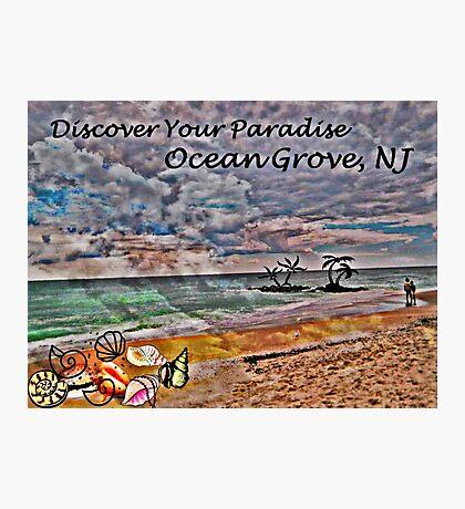 Postcard Fun - Paradise Ocean Grove Photographic Print
