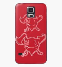 Percentum Pirate (white) Case/Skin for Samsung Galaxy