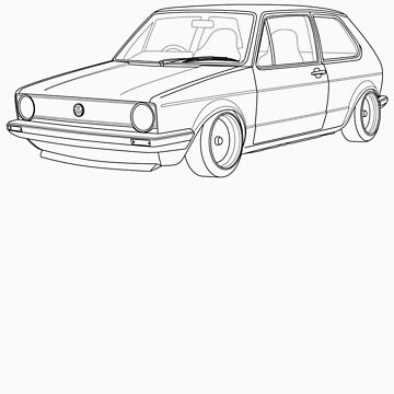 MK1 Golf Line by Lowcorsa