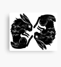 Wit and Bun Deux Canvas Print