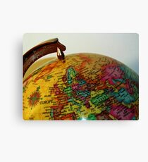 Geography Canvas Print