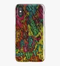 Geography iPhone Case