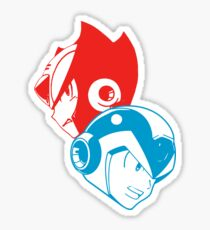 X & Zero Sticker