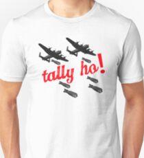 Lancaster Bomber themed design Unisex T-Shirt