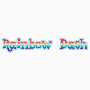 Rainbow Dash Sticker by teiptr