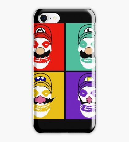 N. Misfit 4 (b) iPhone Case/Skin