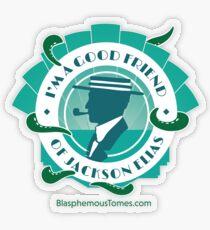 I'm a Good Friend of Jackson Elias (1) Transparent Sticker