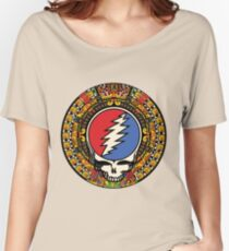 2012 Mayan Steal Your Face - Full Color Women's Relaxed Fit T-Shirt