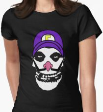 Misfit Waluigi Women's Fitted T-Shirt