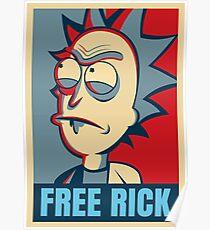 Free Rick Poster