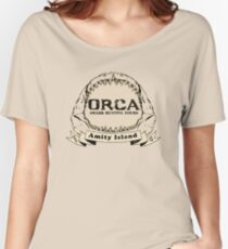 Orca Shark Hunting Tours Women's Relaxed Fit T-Shirt