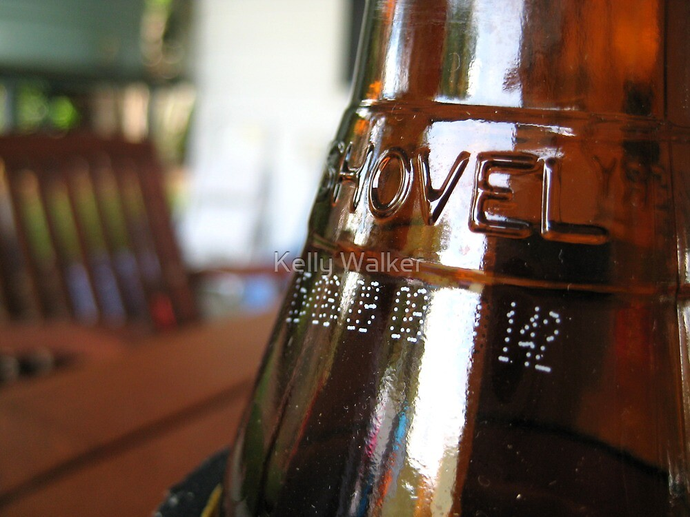 Beer Bottle by Kelly Walker