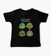 TMNT and KISS crossover Kids Clothes