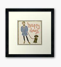 Happy Days Framed Print