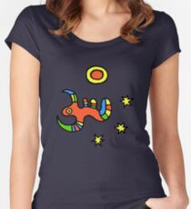 Murx and Midnight Sun Women's Fitted Scoop T-Shirt