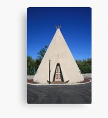 Route 66 - Wigwam Motel Canvas Print