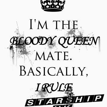 Liz 10 - Starship UK by YumeSakurai