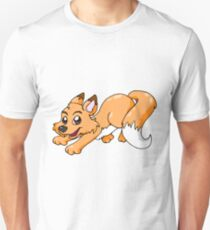 Happy Fox Unisex T-Shirt