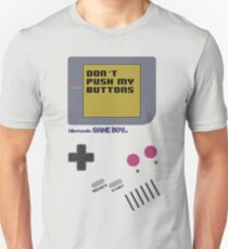 Nintendo - Don't Push My Buttons (Original Gameboy) Unisex T-Shirt