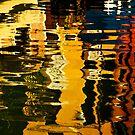 Gondolas in the Grand Canal by Daniel H Chui