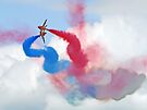Break ! Red Arrows - Dunsfold 2012 by Colin  Williams Photography