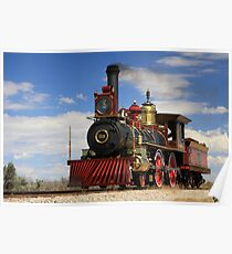 "Steam locomotives ""119"" Poster"