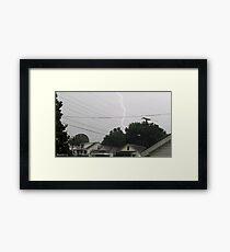 Lightning 2012 Collection 36 Framed Print