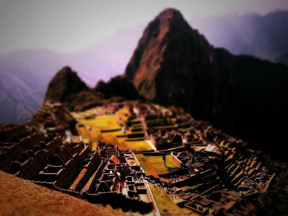 Machu Picchu tilt-shift by Darren Taylor