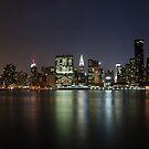 Midtown Manhattan at dusk by Peter Dickinson