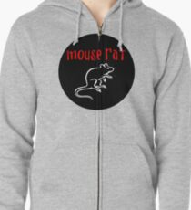 MOUSE RAT - The Band is Back in Town! Zipped Hoodie