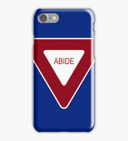 Abide [Tee & Case] iPhone Case/Skin