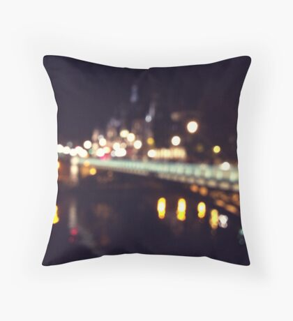 La Seine Throw Pillow