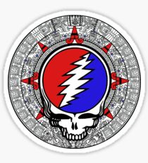 Mayan Calendar Steal Your Face - Basic Color Sticker